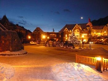 Banffの夜明け.jpg